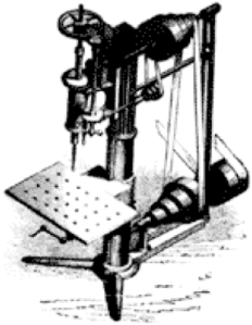 1818 Eli Whitney Milling Machine
