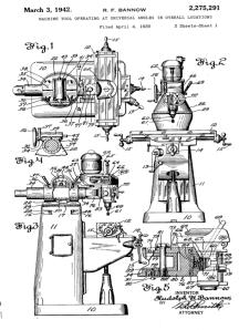 Bridgeport Patent dwg 1942