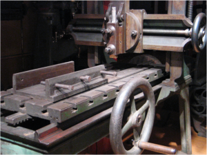 Iron Planer, circa 1825, Photo courtesy: American Precision Museum